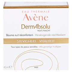 Avène DermAbsolu Nacht Wohltuender Nachtbalsam + gratis Avène Hygiene-Set 40 Milliliter - Rückseite