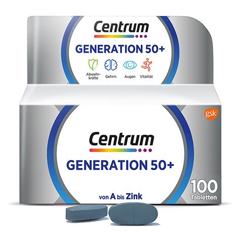 Centrum Generation 50+ Tabletten 100 Stück