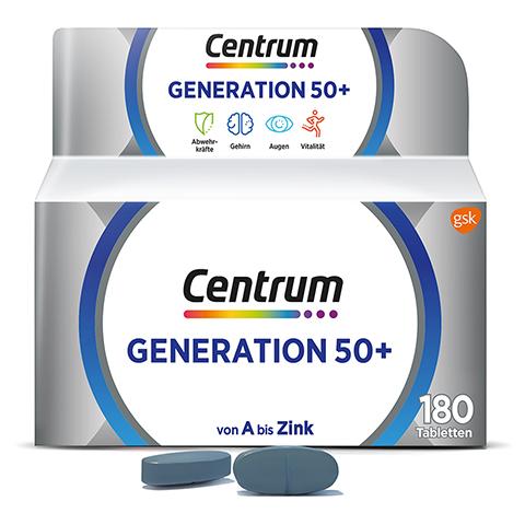 Centrum Generation 50+ Tabletten 180 Stück