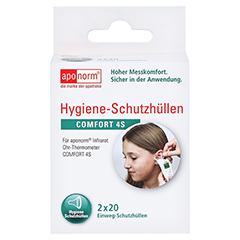 APONORM Fieberthermometer Ohr Comfort Schutzhüllen 40 Stück - Vorderseite