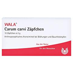CARUM CARVI Zäpfchen 10x2 Gramm N1 - Vorderseite