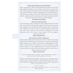 LA MER Ampulle Clear & Matt o.Parfum 7x2 Milliliter - Rückseite
