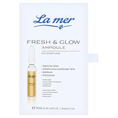LA MER Ampulle Fresh & Glow o.Parfum 7x2 Milliliter - Vorderseite
