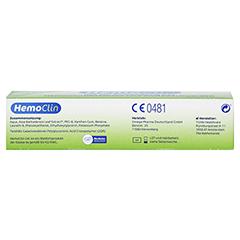 Hemoclin Gel 30 Gramm - Unterseite