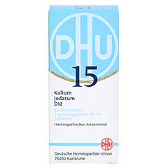 BIOCHEMIE DHU 15 Kalium jodatum D 12 Tabletten 200 Stück N2 - Vorderseite