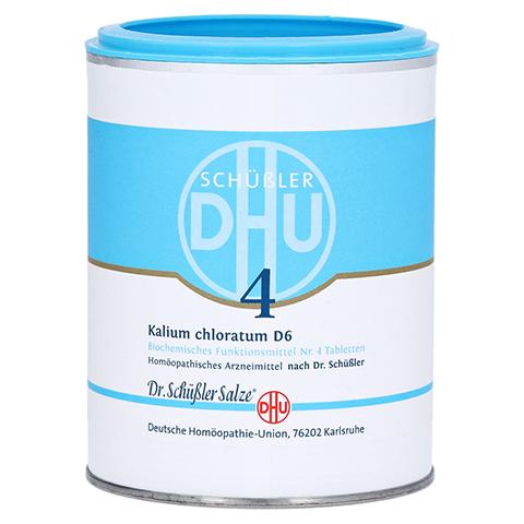 BIOCHEMIE DHU 4 Kalium chlorat. D 6 Tabletten 1000 Stück