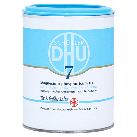 BIOCHEMIE DHU 7 Magnesium phosphoricum D 3 Tabl. 1000 Stück