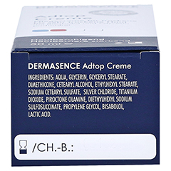 DERMASENCE Adtop Creme 50 Milliliter - Unterseite