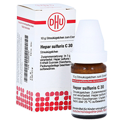 HEPAR SULFURIS C 30 Globuli 10 Gramm N1