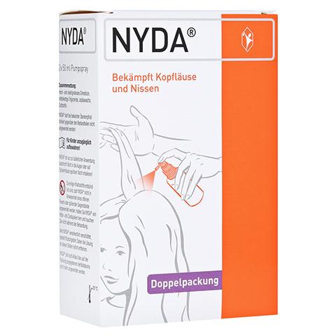 NYDA gegen Läuse und Nissen Pumplösung 2x50 Milliliter
