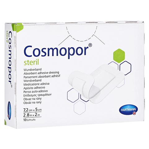 COSMOPOR steril 5x7,2 cm 10 Stück
