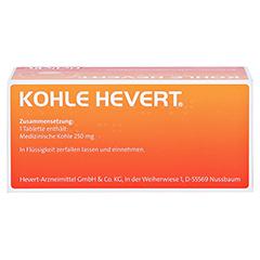 Kohle-Hevert 50 Stück - Oberseite