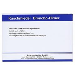 KASCHMIEDER Broncho Elixier vet. 6x18 Milliliter - Vorderseite