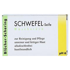 Schwefel Seife Blücher Schering 100 Gramm - Vorderseite