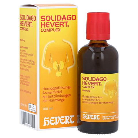 SOLIDAGO HEVERT Complex Tropfen 100 Milliliter N2
