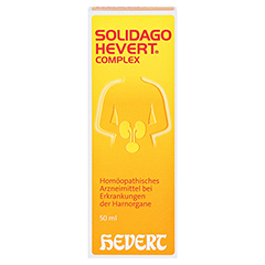 SOLIDAGO HEVERT Complex Tropfen 50 Milliliter N1 - Vorderseite