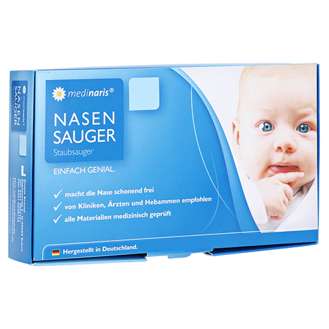 MEDINARIS Nasensauger 1 Stück