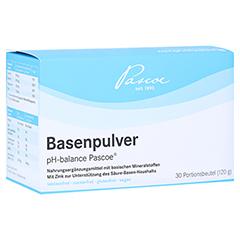 BASENPULVER pH balance Pascoe 30x4 Gramm