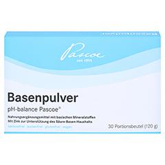 BASENPULVER pH balance Pascoe 30x4 Gramm - Vorderseite