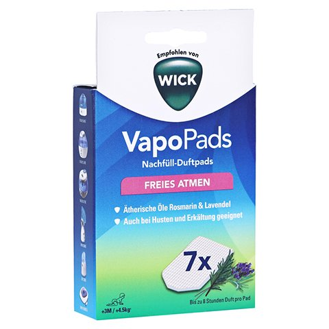 WICK VapoPads 7 Rosmarin Lavendel Pads WBR7 1 Packung