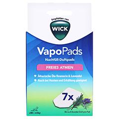 WICK VapoPads 7 Rosmarin Lavendel Pads WBR7 1 Packung - Vorderseite