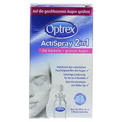 OPTREX ActiSpray 2in1 f.trockene+gereizte Augen 10 Milliliter - Vorderseite