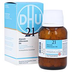 BIOCHEMIE DHU 21 Zincum chloratum D 6 Tabletten 420 Stück N3