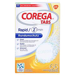 Corega Tabs 3 Minuten 66 Stück - Vorderseite