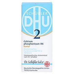 BIOCHEMIE DHU 2 Calcium phosphoricum D 6 Tab.Karto 200 Stück N2 - Vorderseite