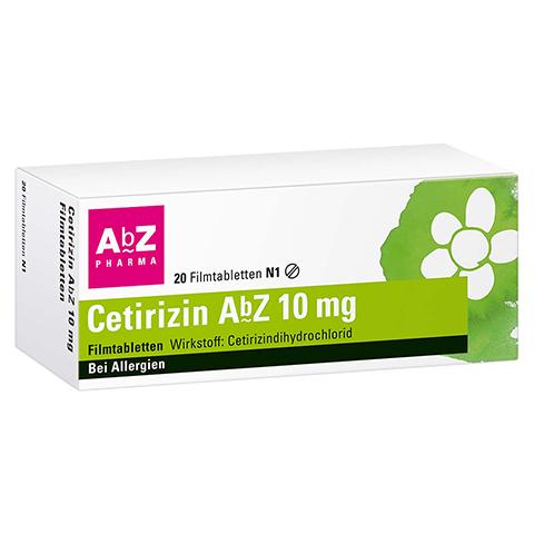 Cetirizin AbZ 10mg 20 Stück N1