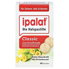 IPALAT Halspastillen classic 40 Stück - Vorderseite