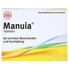 MANUIA Tabletten 40 Stück N1 - Vorderseite