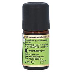 PRIMAVERA Rosmarin Öl kbA ätherisch 5 Milliliter - Rechte Seite