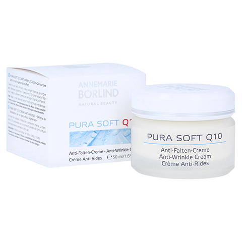 BÖRLIND Pura Soft Q10 Anti Falten Creme 50 Milliliter