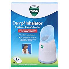 WICK Dampf Inhalator manuell 1 Stück - Vorderseite