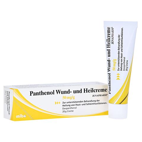 Panthenol Wund- und Heilcreme JENAPHARM 50mg/g 20 Gramm
