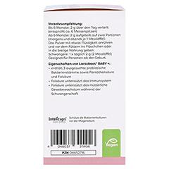LACTOBACT Baby Pulver 60 Gramm - Linke Seite
