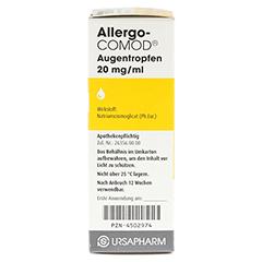 Allergo-COMOD 10 Milliliter - Linke Seite