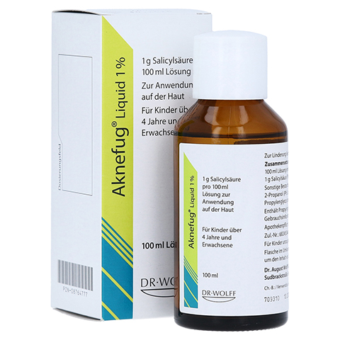 Aknefug-Liquid 1% 100 Milliliter N3