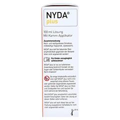 NYDA plus mit Kamm-Applikator 100 Milliliter - Linke Seite