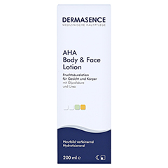 Dermasence AHA body and face Lotion 200 Milliliter - Vorderseite