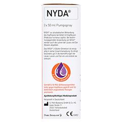 NYDA gegen Läuse und Nissen Pumplösung 2x50 Milliliter - Rechte Seite
