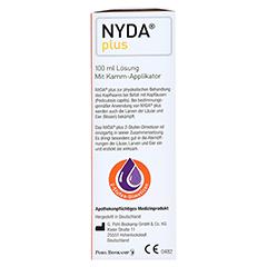 NYDA plus mit Kamm-Applikator 100 Milliliter - Rechte Seite