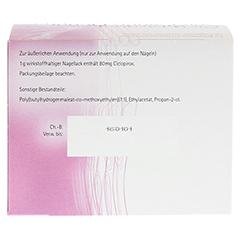 Ciclopirox acis 80mg/g 6 Gramm N2 - Rückseite