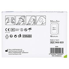 COSMOPOR steril 5x7,2 cm 10 Stück - Rückseite