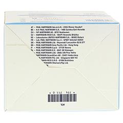 COVERFLEX Schlauchverband Gr.3 7,5 cmx10 m blau 1 Stück - Unterseite