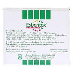 Esberitox Tabletten 100 Stück N3 - Rückseite