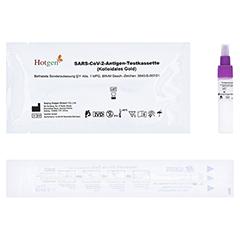 HOTGEN COVID-19 Laien Nasal Rapid Test 1 Stück - Oberseite