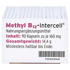 METHYL B12-Intercell magensaftresistente Kapseln 90 Stück - Linke Seite