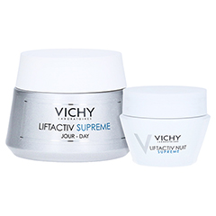 Vichy LIFTACTIV SUPREME Tagescreme trockene Haut + gratis Vichy Liftactiv Night Supreme 15 ml 50 Milliliter